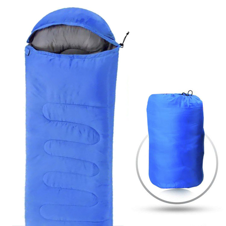 5PCS Comfortable Large Single Sleeping Bags for adult Warm Soft Waterproof sleeping bags for Camping Hiking Lazy Bag Sleeping Beach Bed army blue