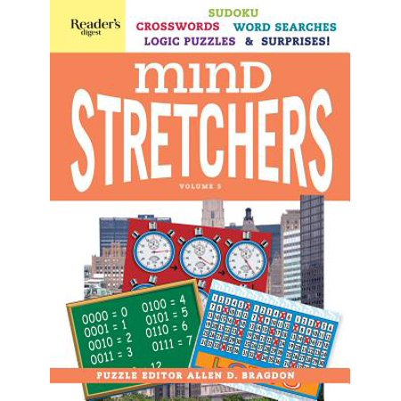 Reader's Digest Mind Stretchers Puzzle Book Vol. 5 : Number Puzzles, Crosswords, Word Searches, Logic Puzzles and Surprises](Halloween Word Search Printable Hard)