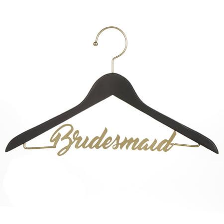 Dt Black And Gold Bridemaid Chalkboard Hanger 1Pc