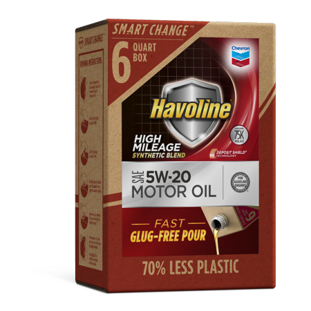 Havoline SMART CHANGE® High Mileage SB Motor Oil 5W-20,