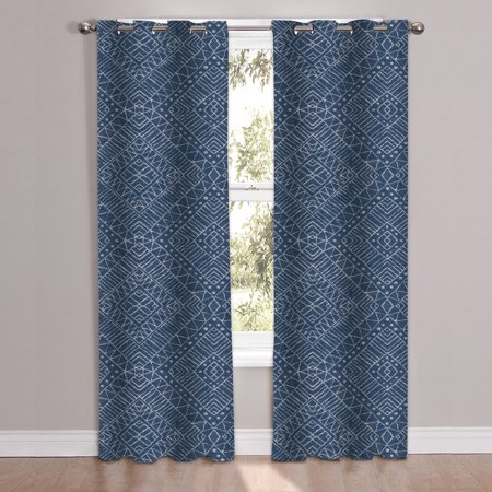 Parkview Printed Window Curtain Panel Pair 84