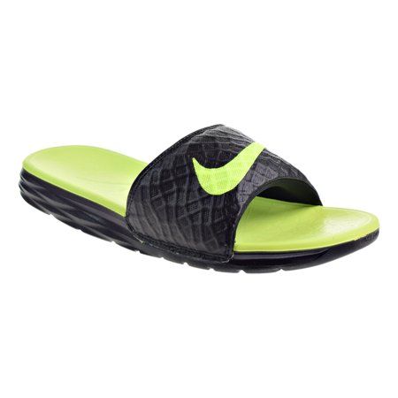 Nike Benassi Solarsoft Mens Sandals BlackVolt Noir 705474070 13 D