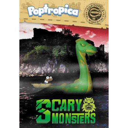 Poptropica Scary Monsters