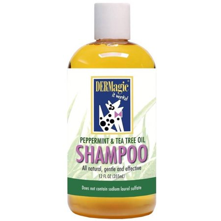 Dermagic Peppermint And Tea Tree Oil Shampoo 12 Oz Walmart Com