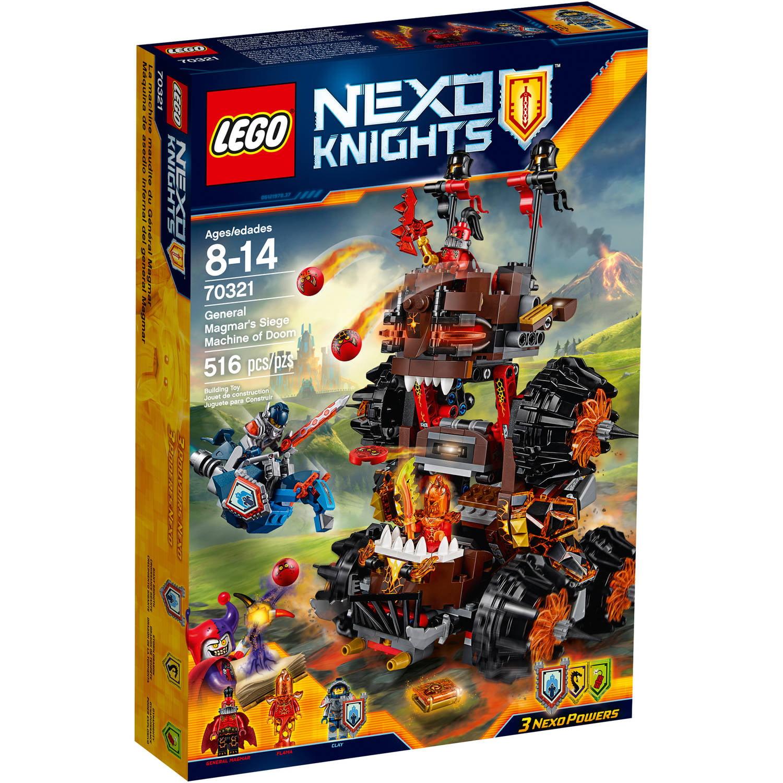 LEGO NEXO KNIGHTS General Magmar's Siege Machine of Doom ...