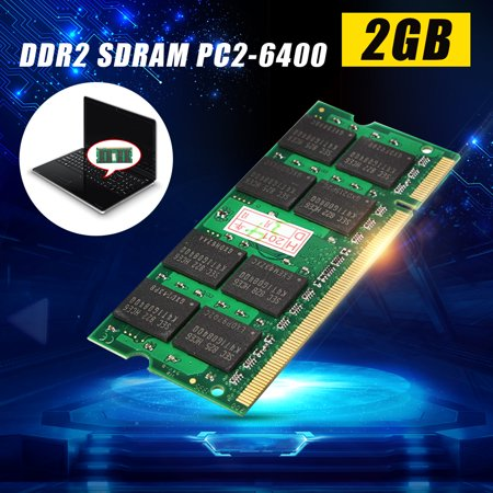 2GB DDR2 800Mhz PC2-6400 NON-ECC Notebook Laptop Memory RAM 200 Pin CL5 Pc2 4200 200 Pin Notebook