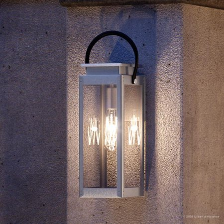 Urban Ambiance Luxury Coastal Outdoor Wall Light, Size: 23-5/8
