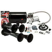 Kleinn Air Horns HK4-1 Pro Blaster Quad Air Horn Kit