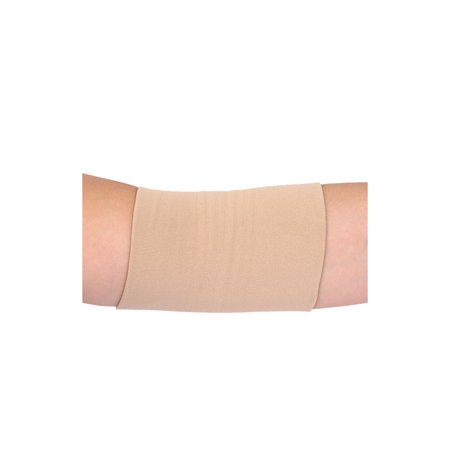 Unisex Reversible Stretchy Athletic Compression Elbow Supporter S Beige - image 3 de 3