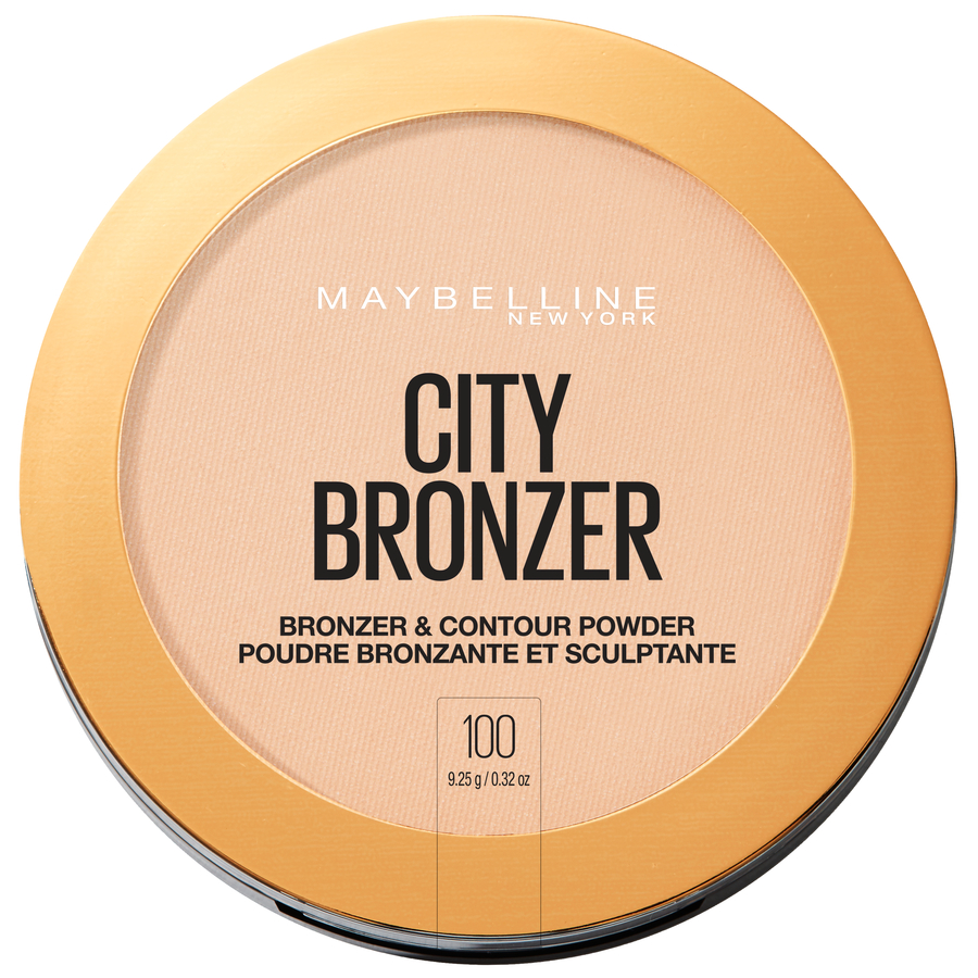 Maybelline City Bronzer Powder Makeup, Bronzer and Contour Powder, 100