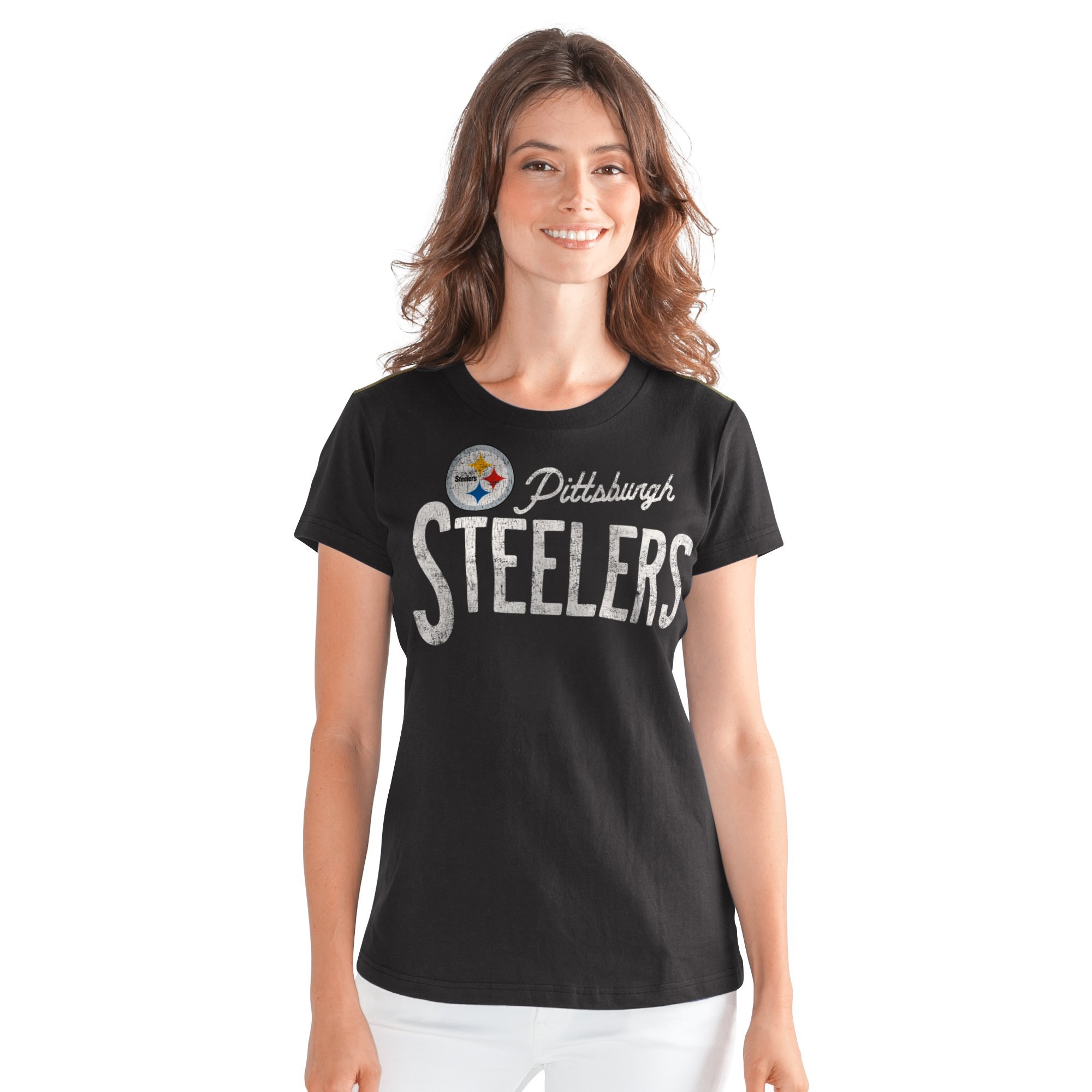 Pittsburgh Steelers Women's Crew Neck T-Shirt