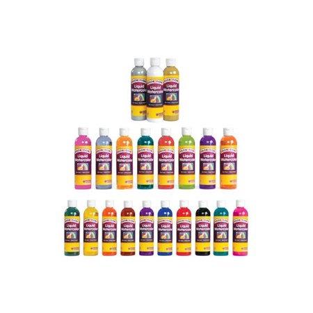 Colorations Liquid Watercolor Paint, Pink - 8 oz. (Item # LWPI)