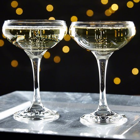 Gatsby Champagne Coupe Glasses, Set of - Champagne Coupe Glasses