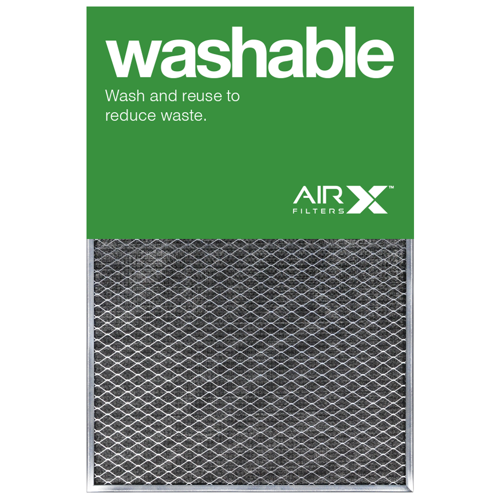 airx filters washable 20x30x1 permanent air filter merv 1 heavy duty ...
