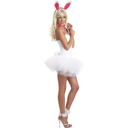 Romantic Lace Bunny Set Adult Halloween Accessory](Halloween Bunny Face)