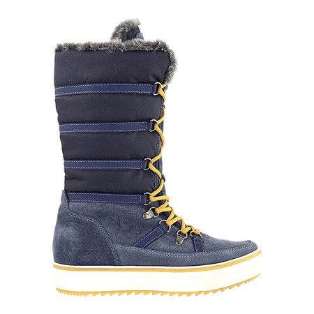 Women's Santana Canada Mackenzie2 Tall Boot Blue Nylon/Suede 7 M - image 2 of 6