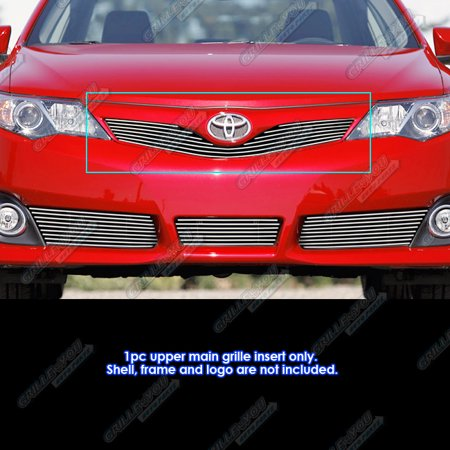 Fits 2012-2014 Toyota Camry SE Billet Grille Grill Insert
