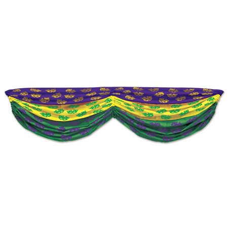 Pack of 6 Green, Yellow and Purple