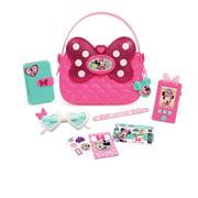 Minnie's Happy Helpers Bag Set, Pink, Pink bag as seen in Disney Junior's Minnie's Happy Helpers. By Minnie Mouse
