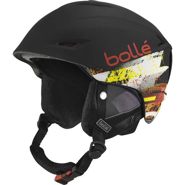 *Bolle Helmets 30979 Soft Black and Red 61-63cm Sharp