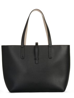 e5d45963ac9b Product Image Time and Tru Leigh Tote. Product Variants Selector. Black
