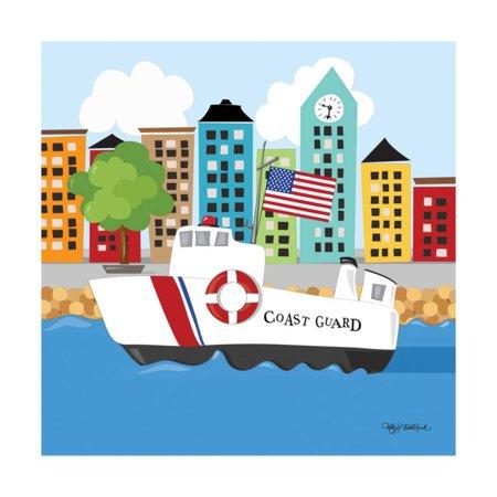 Coast Guard Print Wall Art By Kathy (Print Guard)