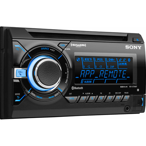Sony WX-GT90BT CD/MP3 AUX App Remote Car Receiver Stereo Bluetooth WXGT90BT