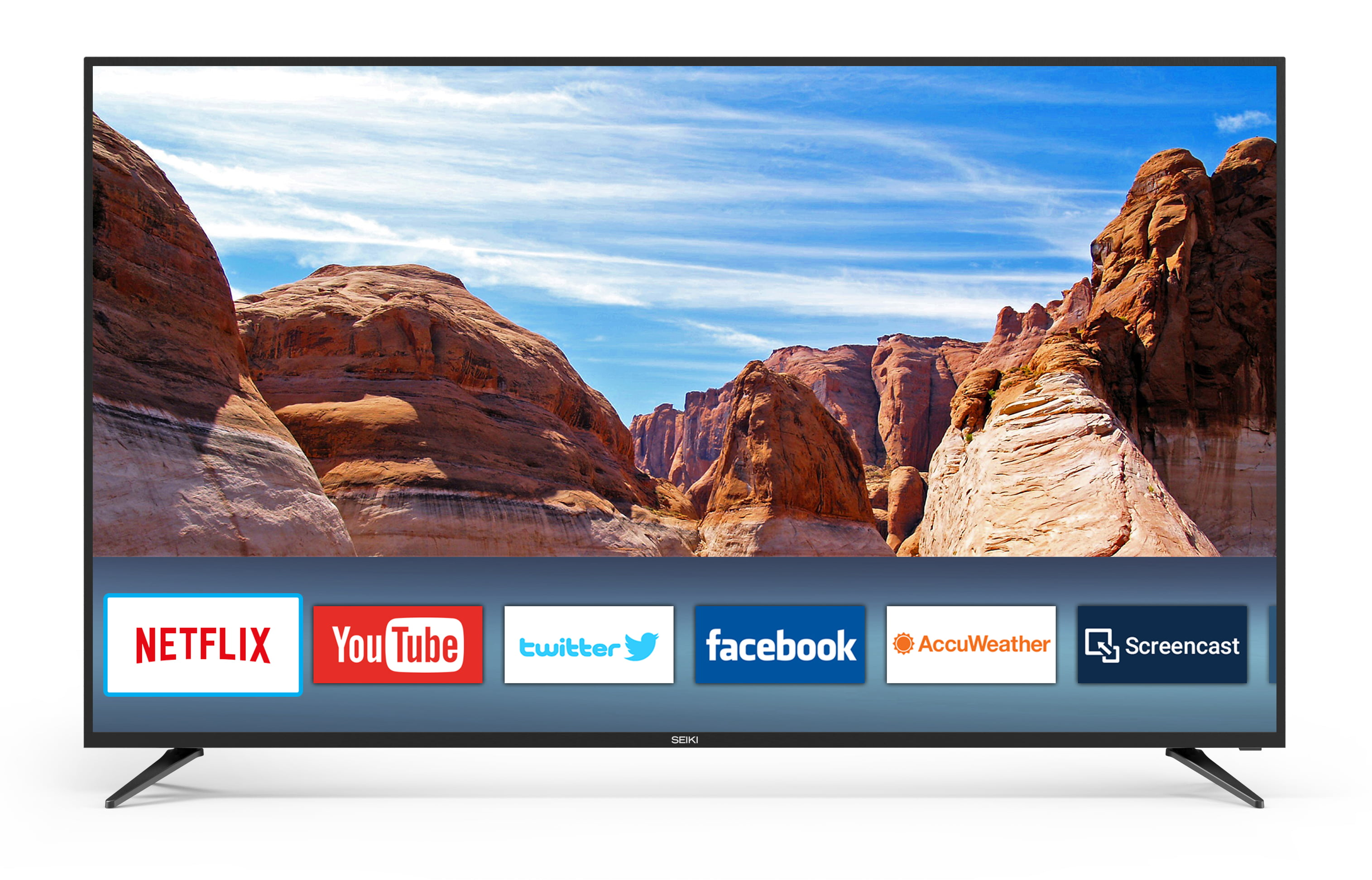 "Click here to buy Seiki 70"" Class 4K Ultra HD (2160p) Smart LED TV (SC-70UK850N) by Seiki."