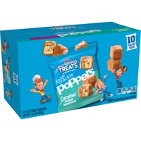 Kellogg's Rice Krispies Treats Snap Crackle Poppers, Crispy Marshmallow Squares, Caramel, 10 Ct, 10 Oz