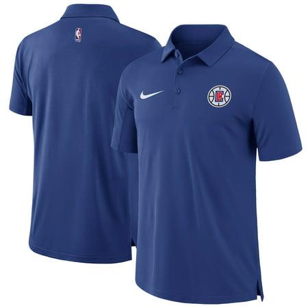 LA Clippers Nike Core Performance Polo - Blue