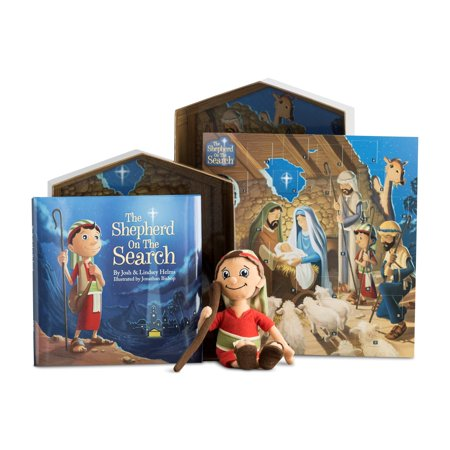 DaySpring  -  The Shepherd On The Search - Advent Activity & Calendar Gift Set