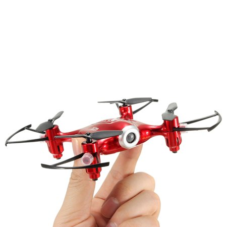 Syma X21 Pocket WIFI FPV RC Hover Drone RTF 2.4G 4CH 6 Aixs Headless Mode Quadcopter Toys - (Heli Max 1sq V Cam Rtf Quadcopter)