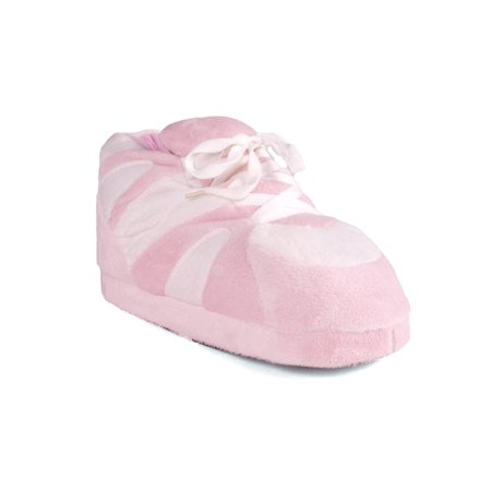 Image of Happy Feet - Pink and White - Slippers - Large