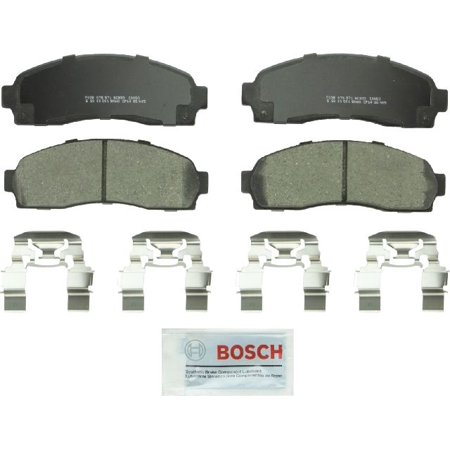 Go-Parts OE Replacement for 2001-2005 Ford Explorer Sport Trac Front Disc Brake Pad Set for Ford Explorer Sport Trac