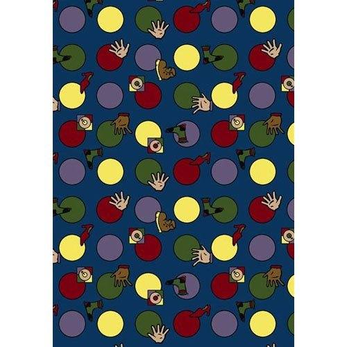 Joy Carpets Hokey Pokey Kids Area Rug