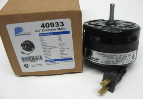 Broan PACKARD 3.3 Inch Diameter Vent Fan Motor Direct Replacement For Nutone