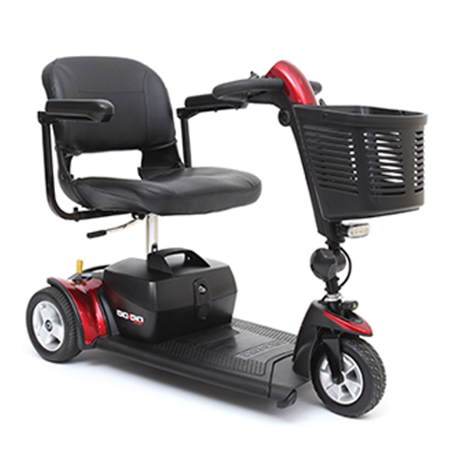 Pride Mobility Go-Go Sport 3-Wheel Mobility Scooter