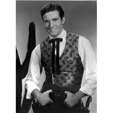 Hugh OBrian wearing a historical costume Photo Print (Hugh Hef Costume)
