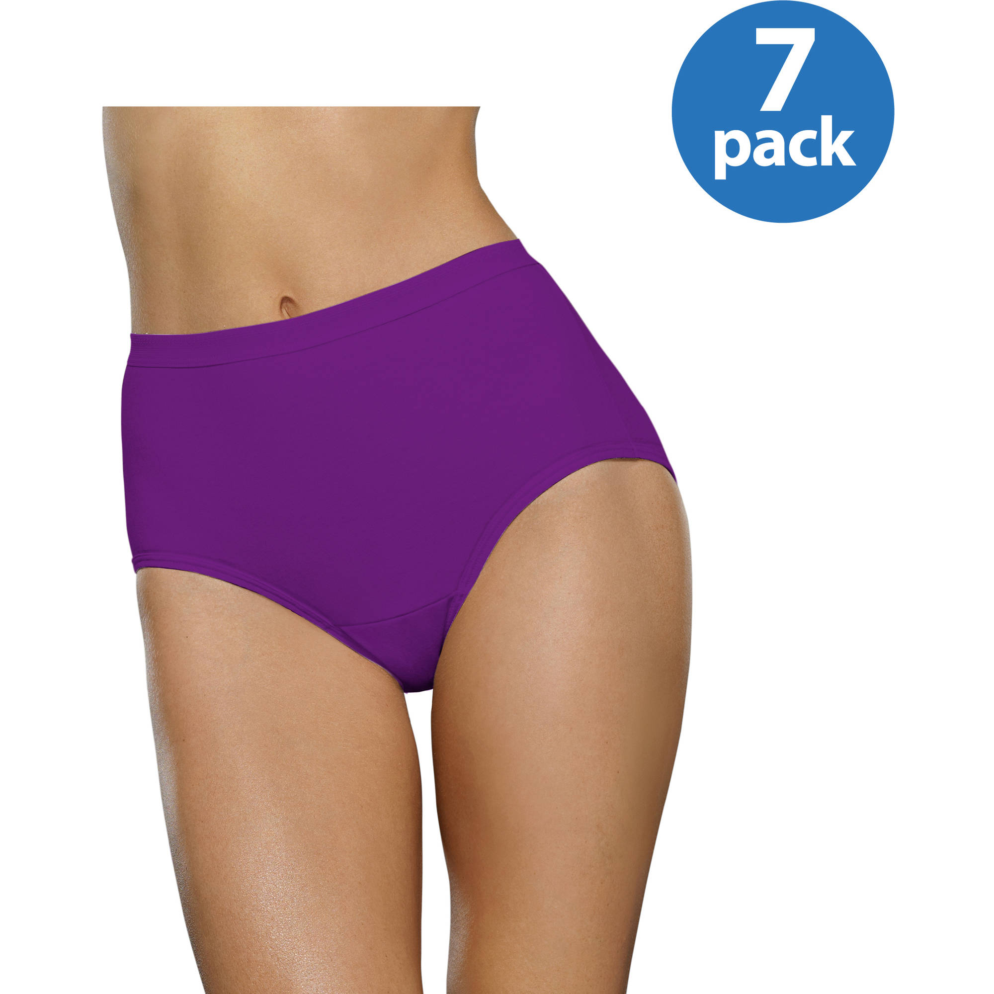 Fruit of the Loom Ladies' 6+1 bonus pack beyondsoft Brief