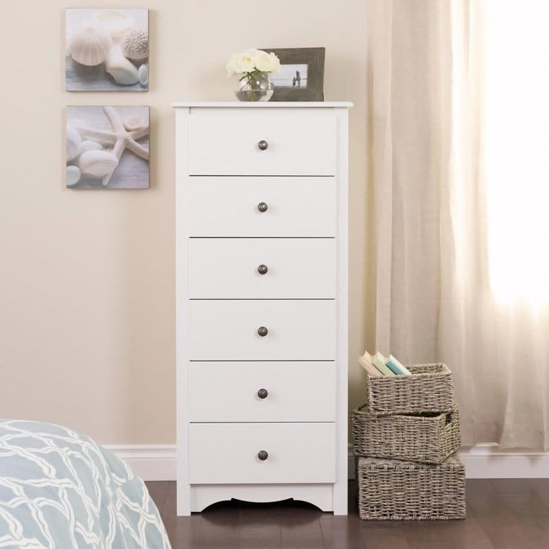 Prepac Six-drawer Lingerie Chest