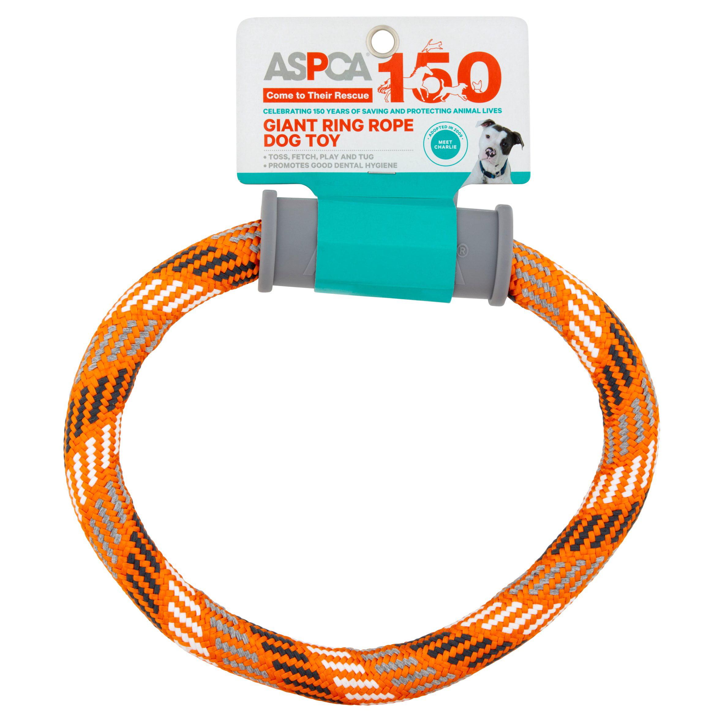 ASPCA Giant Ring Blue Rope Dog Toy