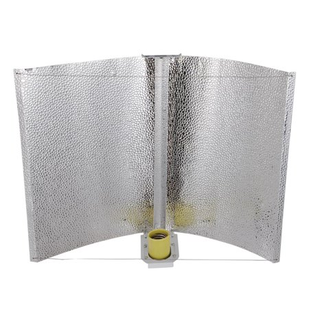 "Yescom 27x18"" Adjustable Wing Reflector Hood Air Cool for HPS MH Grow Light Bulb Tent Indoor Hydroponic Greenhouse"