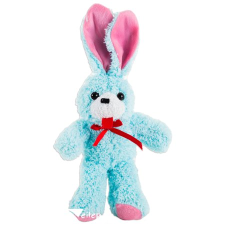 Veil Entertainment Spring Fluffy Ribbon Easter Bunny Toy Gift 12