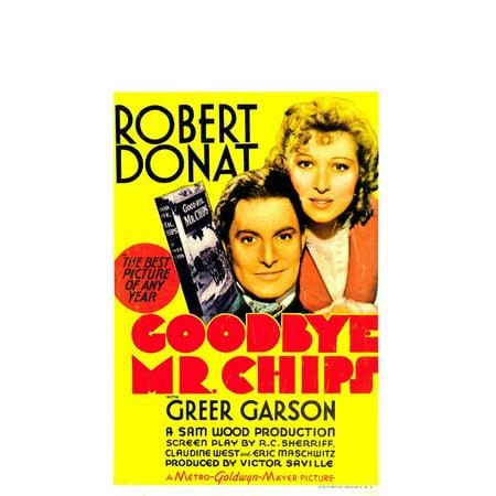 Promo Chip (Goodbye Mr. Chips POSTER Movie C Mini)