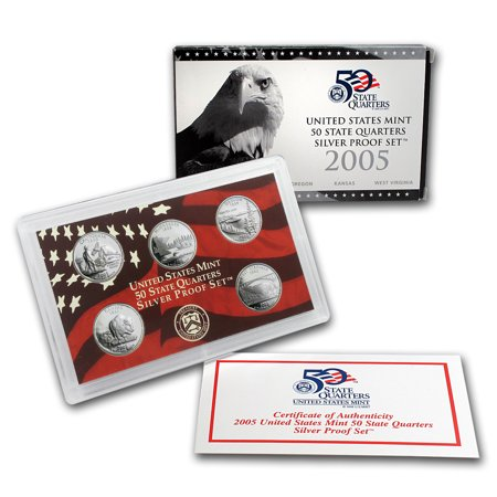 2005 State Quarters Silver Proof (2005 State Quarters Silver Proof)