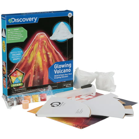 Discovery™ Glowing Volcano Kit 22 pc Box