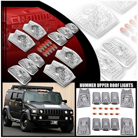 - For 2003-2009 Hummer H2 Headlights Roof Head Lights Lamp  New Set Pair Left+Right/2004 2005 2006 2007 2008