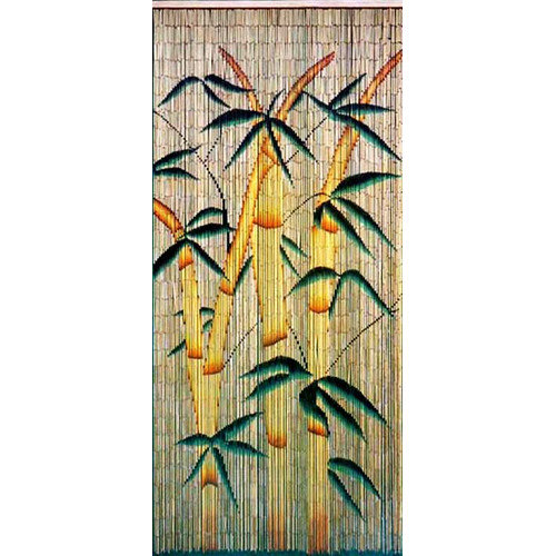 Bamboo54 Bamboo Rayon Forest Single Curtain Panel