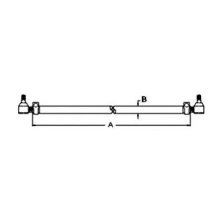E6NN3280AA New Tie Rod Assembly for Ford NH 455 550 555 555A 555B 655 655A