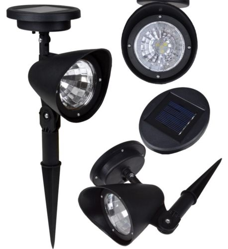 lawn led spotlight lamps product image tms 4led auto onoff solar pathway lights landscape spot lights outdoor garden